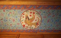 kolomenskoe木宫殿的重建 库存图片