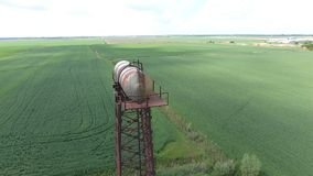 kolomenskoe莫斯科俄国塔水 老土气共同通信 kolomenskoe莫斯科俄国塔水 库存照片