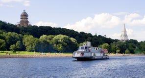 kolomenskoe πάρκο της Μόσχας Στοκ Φωτογραφία