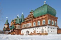 kolomenskoe παλάτι ξύλινο Στοκ εικόνα με δικαίωμα ελεύθερης χρήσης