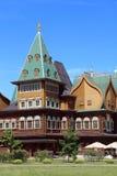 kolomenskoe παλάτι της Μόσχας ξύλινο Στοκ Φωτογραφίες