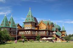 kolomenskoe παλάτι της Μόσχας ξύλινο Στοκ εικόνα με δικαίωμα ελεύθερης χρήσης