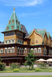 kolomenskoe παλάτι της Μόσχας ξύλινο Στοκ Φωτογραφία