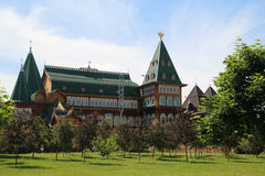 kolomenskoe παλάτι της Μόσχας ξύλινο Στοκ φωτογραφία με δικαίωμα ελεύθερης χρήσης