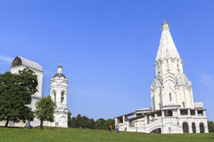 Kolomenskoe kyrka i Moskva Royaltyfri Foto