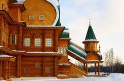 kolomenskoe Moscow pałac drewniany Fotografia Royalty Free