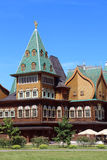 kolomenskoe Moscow pałac drewniany Zdjęcia Stock