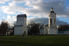 Kolomenskoe park, Moscow architecture Stock Photos