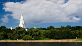 kolomenskoemoscow park arkivfoto