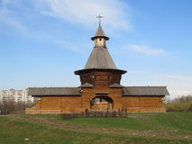 kolomenskoesäterimoscow torn Arkivbilder