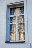 Kolomenskoye公园老建筑学 上生教会反射 免版税库存图片