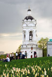 Kolomenskoye公园老建筑学 免版税图库摄影