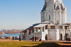 Kolomenskoye Church of Ascension. Church of Ascension in Moscow, Kolomenskoye, day view Royalty Free Stock Photography