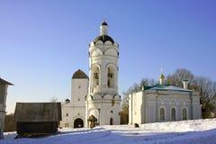 Kolomenskoye kościół st George dzwonkowy wierza zwycięski refektarz Moscow Zdjęcie Royalty Free