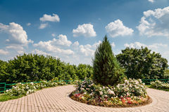 Kolomenskoye Outdoor Museum and Park near Moscow Stock Image