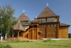 Kolomenskoye, Recreated wooden palace of Tsar Alexei Mikhailovich Romanov Royalty Free Stock Photography
