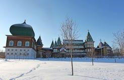 Kolomenskoye in winter, Moscow Stock Photos