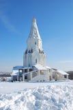 kolomensky moscow för kyrklig gospodnja voznesenija Fotografering för Bildbyråer