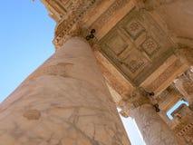 Kolommen bij de tempel Stock Afbeeldingen