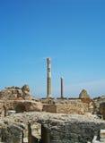 Kolommen in Carthago royalty-vrije stock afbeeldingen