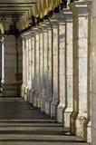 Kolommen, Nice, Frankrijk stock afbeeldingen