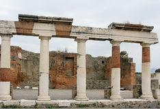 Kolommen Pompei Royalty-vrije Stock Fotografie