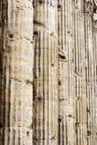 Kolommen in Rome stock foto's