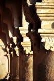 Kolommen in Transsylvanië royalty-vrije stock afbeelding