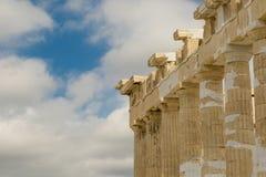 Kolommen van Accropolis royalty-vrije stock foto