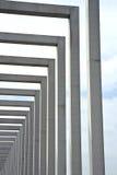 Kolommen van Beton Stock Foto's