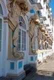 Kolommen van Catherine Palace Stock Fotografie
