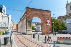 Kolommen van San Lorenzo Colonne di San Lorenzo stock fotografie