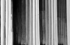 Kolommen in zwart-wit royalty-vrije stock foto