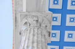Kolommenschrijver uit de klassieke oudheid Stock Fotografie