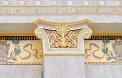 Kolommenschrijver uit de klassieke oudheid Royalty-vrije Stock Afbeelding