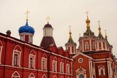kolomna克里姆林宫俄国 Brusensky修道院 彩色照片 库存图片