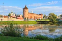 kolomna Κρεμλίνο Στοκ Εικόνες