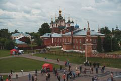 Kolomna, Ρωσία - 11 Ιουνίου 2016: Μοναστήρι Brusensky Uspensky Στοκ Εικόνες