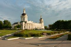 Kolomna, het gebied van Moskou, Rusland Kerk van Michael Archangel Royalty-vrije Stock Foto's