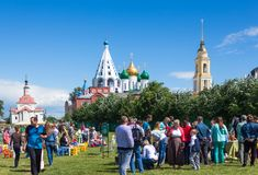 Kolomna holiday Royalty Free Stock Images