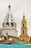 kolomna kremlin russia Färgfoto Arkivfoton