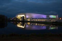 Kolomna Rosja, Październik, - 21, 2017: Kolomna centrum prędkości łyżwiarstwo Obrazy Stock