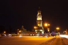kolomna russia Kyrka av John Theologian Near With Ivanovo Gat Arkivfoto