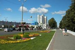 Kolomna, Russie - 9 août 2017 : Hôtel de Kolomna sur le ciel bleu en K Photos stock