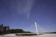 Kolomoen-Brücke, Norwegen Stockfoto