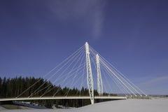 Kolomoen-Brücke, Norwegen Stockfotografie