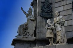 Kolon Barcelona Royaltyfri Bild