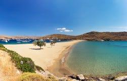 Kolona Kythnos Griechenland Lizenzfreies Stockfoto