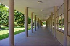Kolonada Libensky, галерея в Podebrady, чехословакском городе курорта Стоковые Фотографии RF