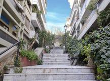 Kolonaki地区在雅典 库存照片